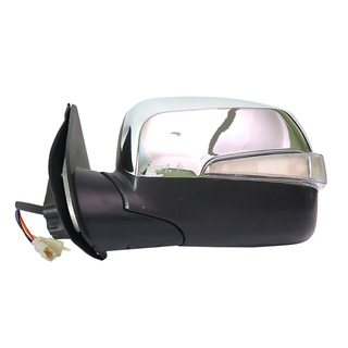 CHROMEL AND ELECTRICAL MIRROR WITH LONG LAMP FOR ISUZU DMAX'2008-2012
